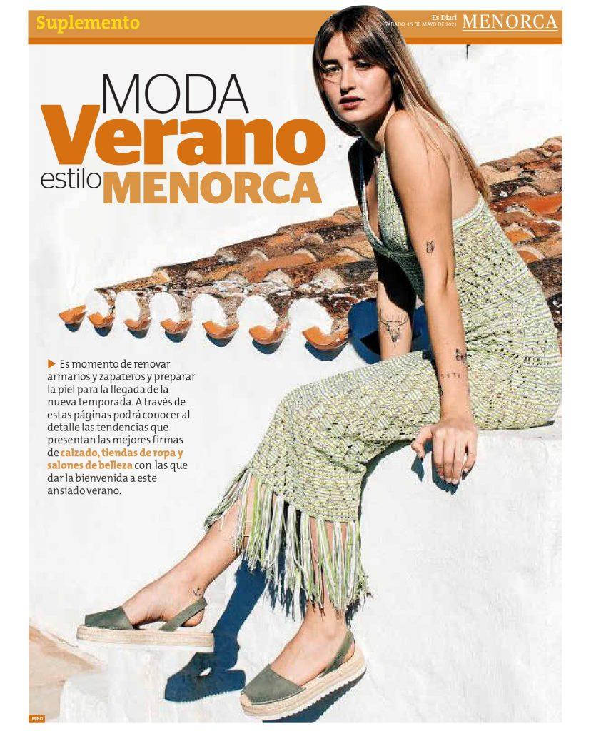 DIARIO MENORCA CON AFCM page 0001 Asociación de fabricantes de calzado de Menorca